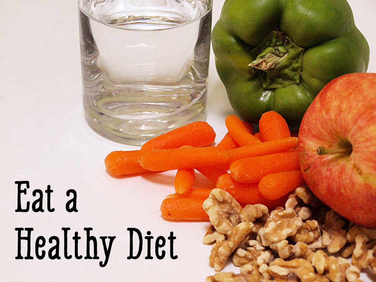 Eat healthily so that your hair gets all of the nutrients it needs.