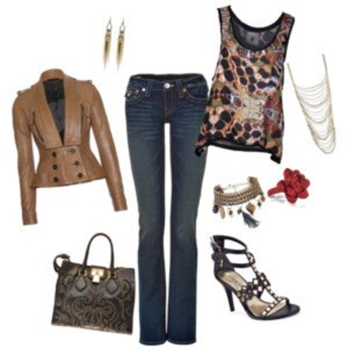 Casual and dressy for a concert or dinner date