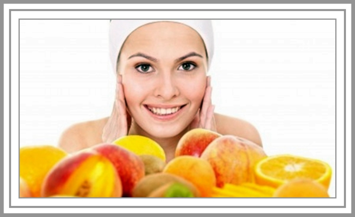 Find out how eating fruits packed with vitamins and antioxidants and using inexpensive homemade beauty treatments to benefit from the AHAs in fruits can get your skin looking fresh and glowing!