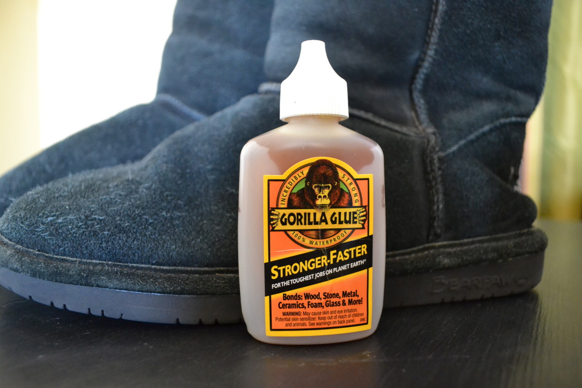 How to Fix Uggs With Gorilla Glue