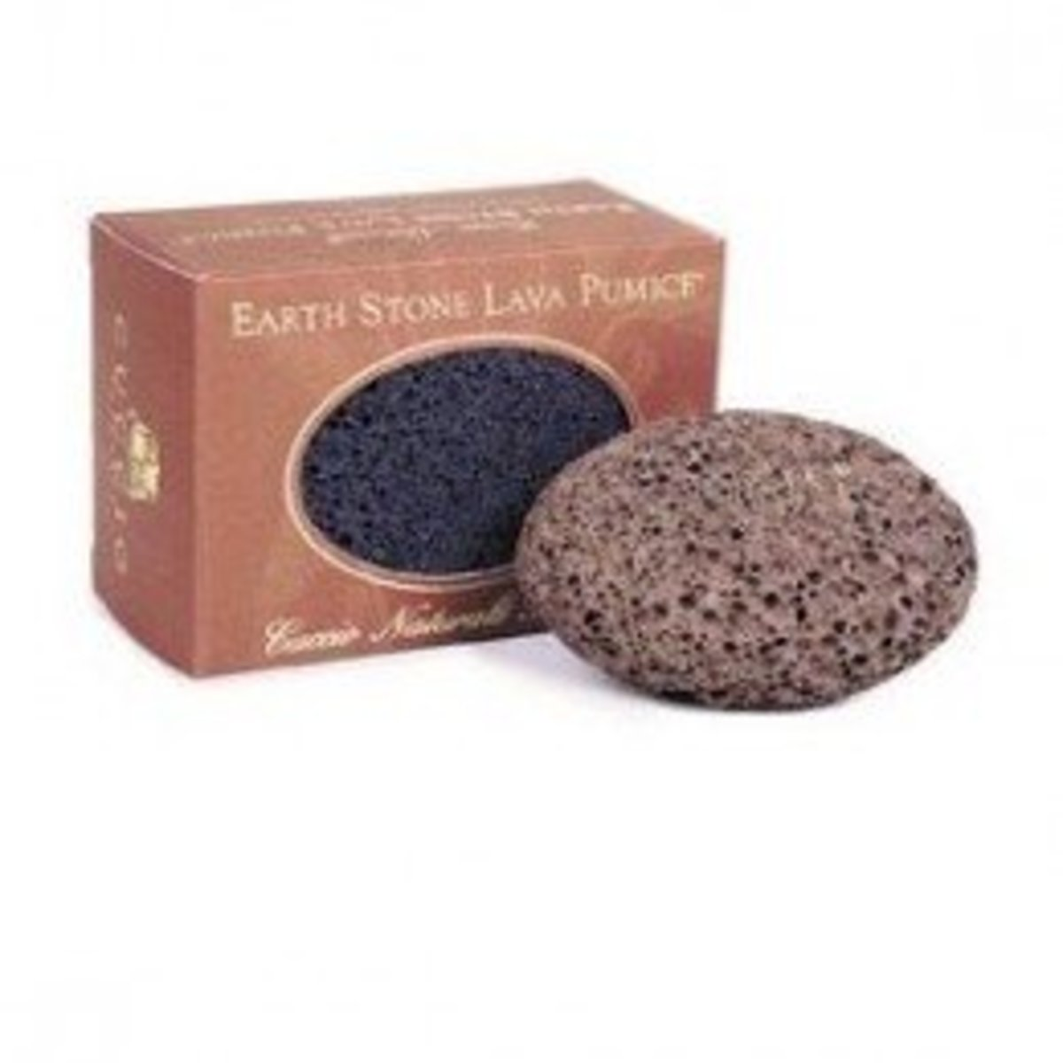 The Cuccio Naturale Earth Stone Pumice is a great medium-sized stone that's easy to grip.