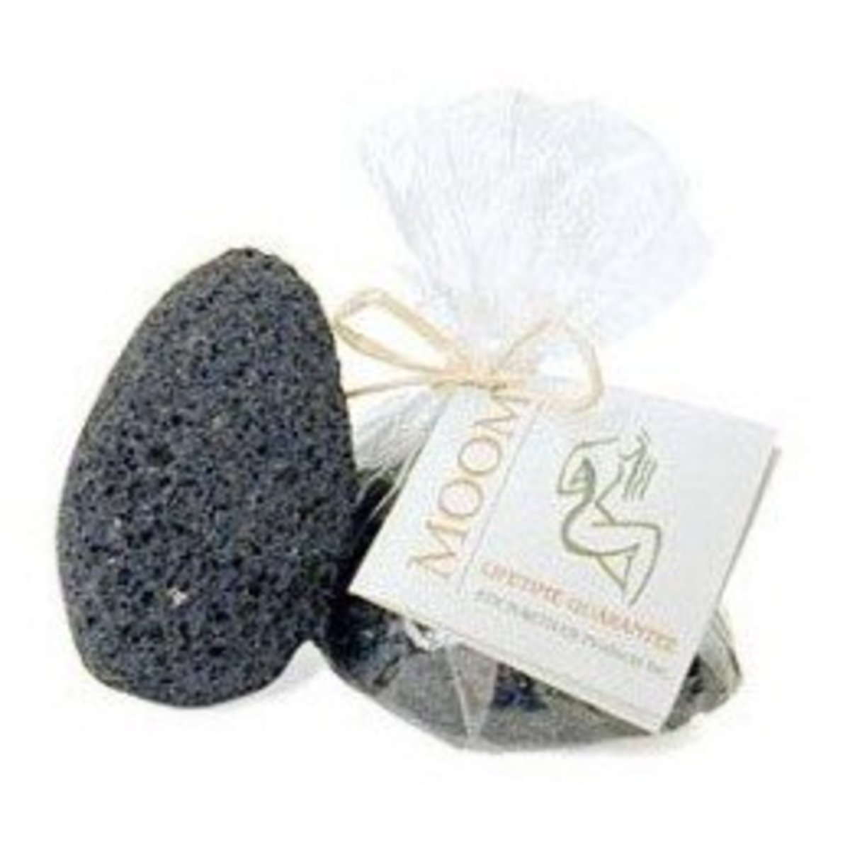 The Moom Beauty Products Volcanic Beauty Stone is a medium-to-coarse pumice stone and will work well for those with really tough skin calluses and hard-to-remove dry skin.