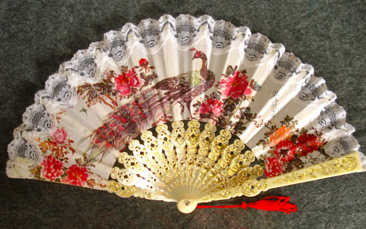 Showing the Parts of the Fan