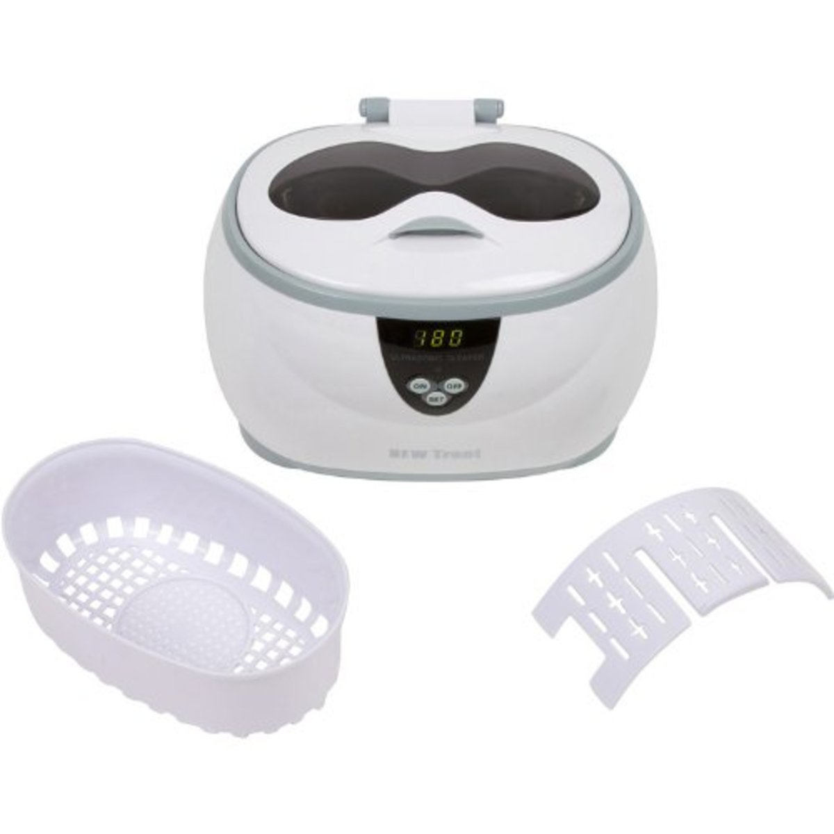 This is a larger image of the New Trent Ultrasonic Jewelry Cleaner pictured below