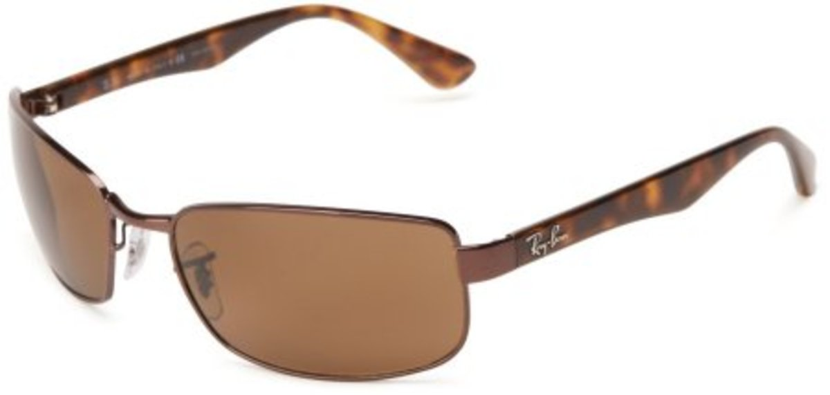 Ray-Ban Men's 0RB3478 Rectangle Sunglasses