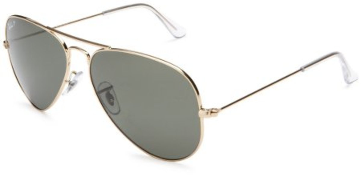 Ray-Ban Men's RB3025 Aviator Large Metal Sunglasses