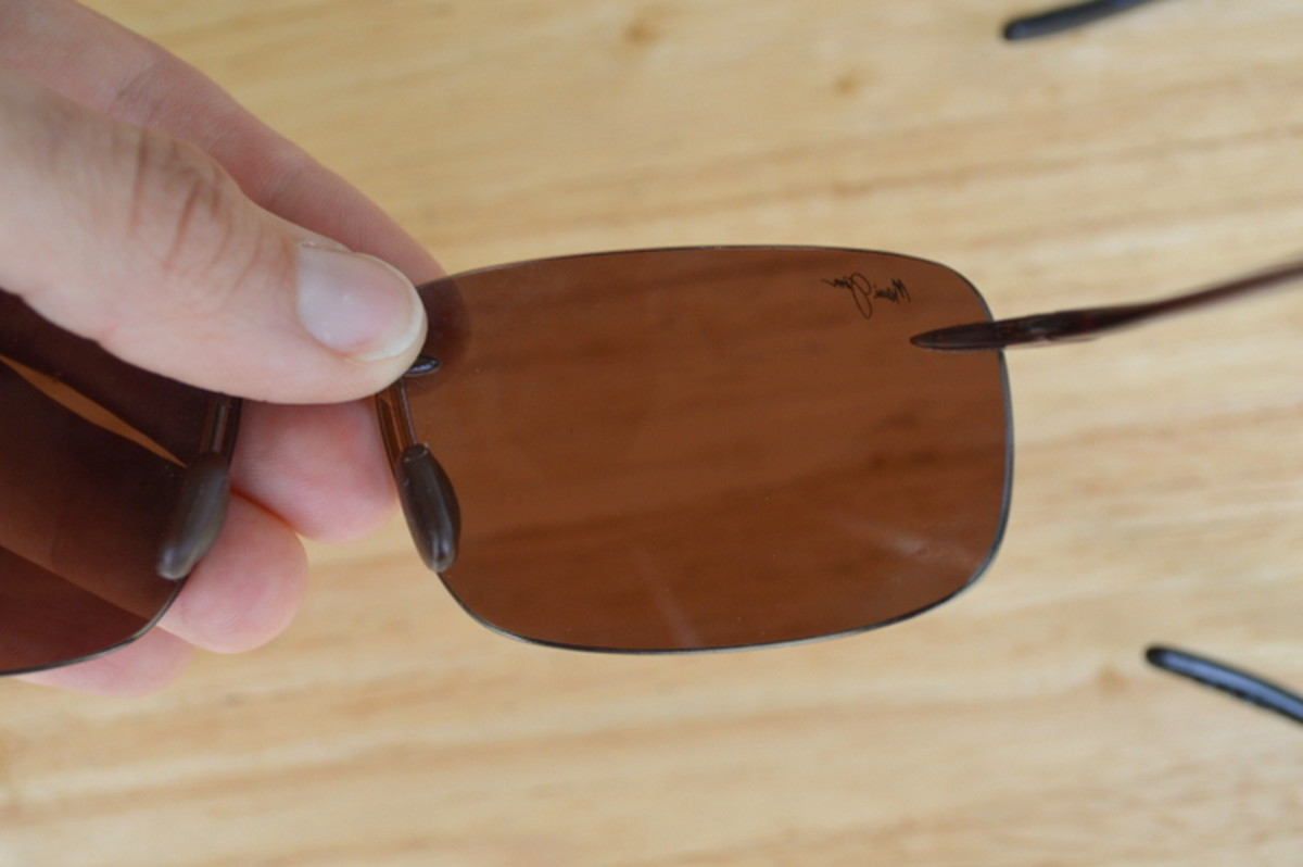 A pair of polarized sungalsses