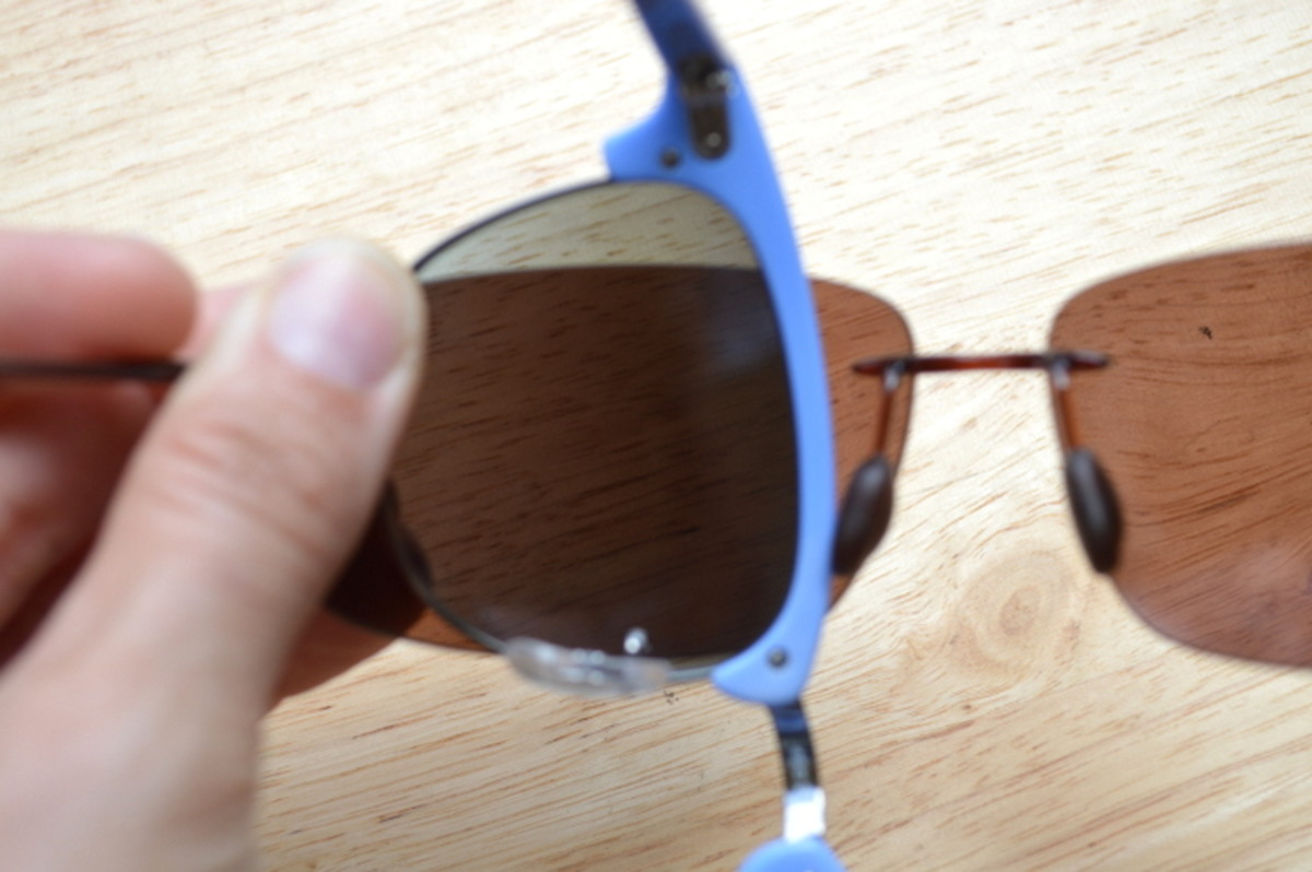 The second pair is not polarized.