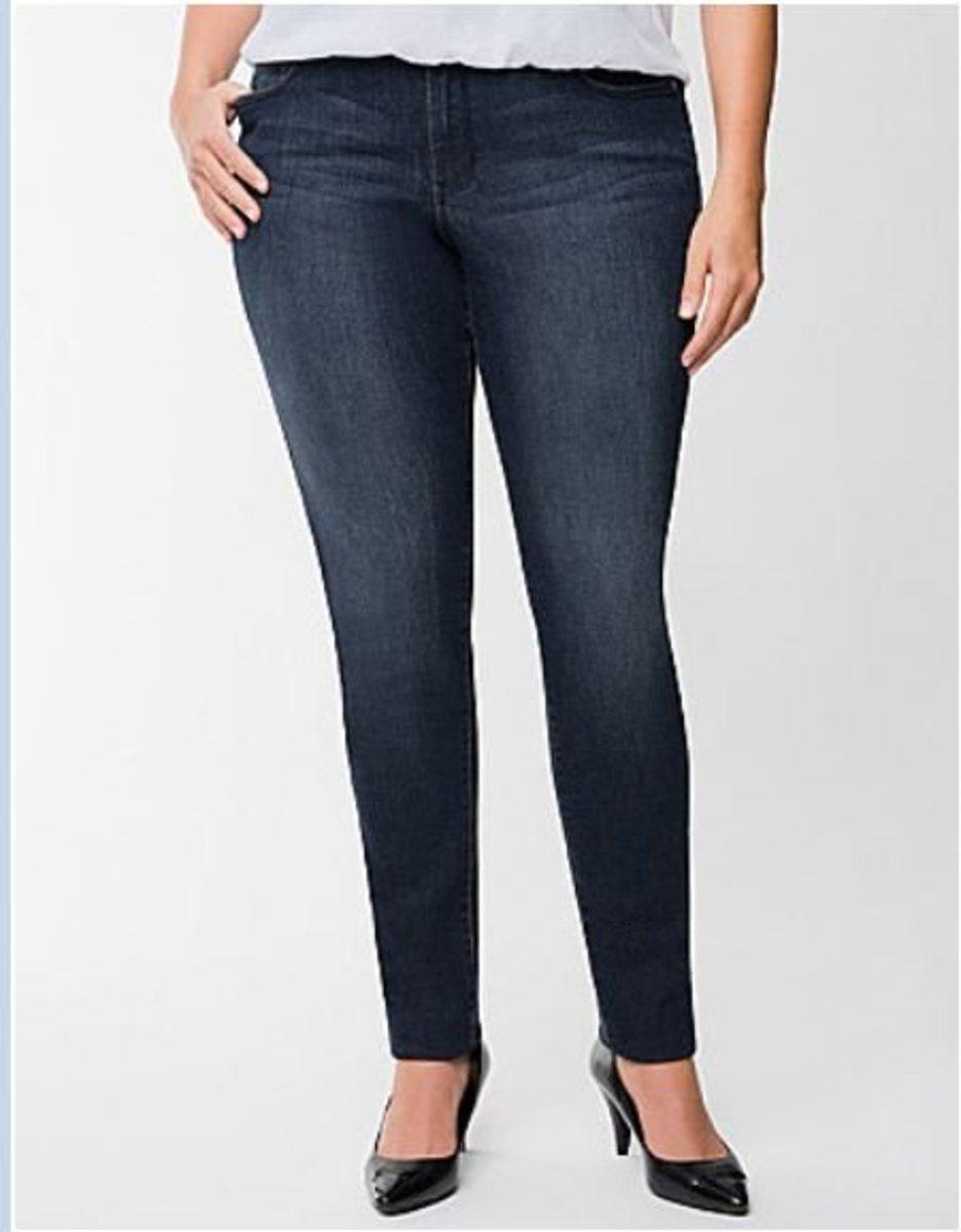Genius Fit skinny jean for petite frames