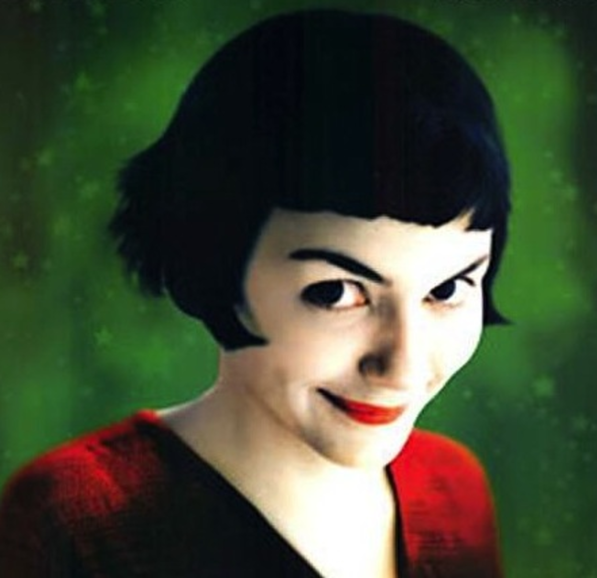 "Audrey Tautou is the queen of quirky adorableness in ""Amelie."" Love it."