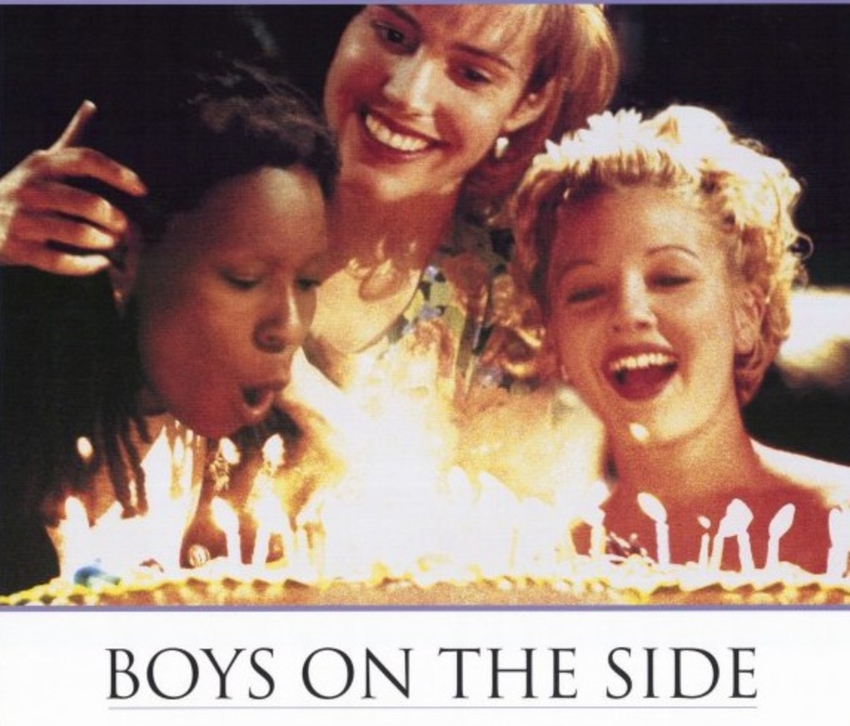 "Watch ""Boys on the Side"" now. Drew Barrymore's hair is is amazing."