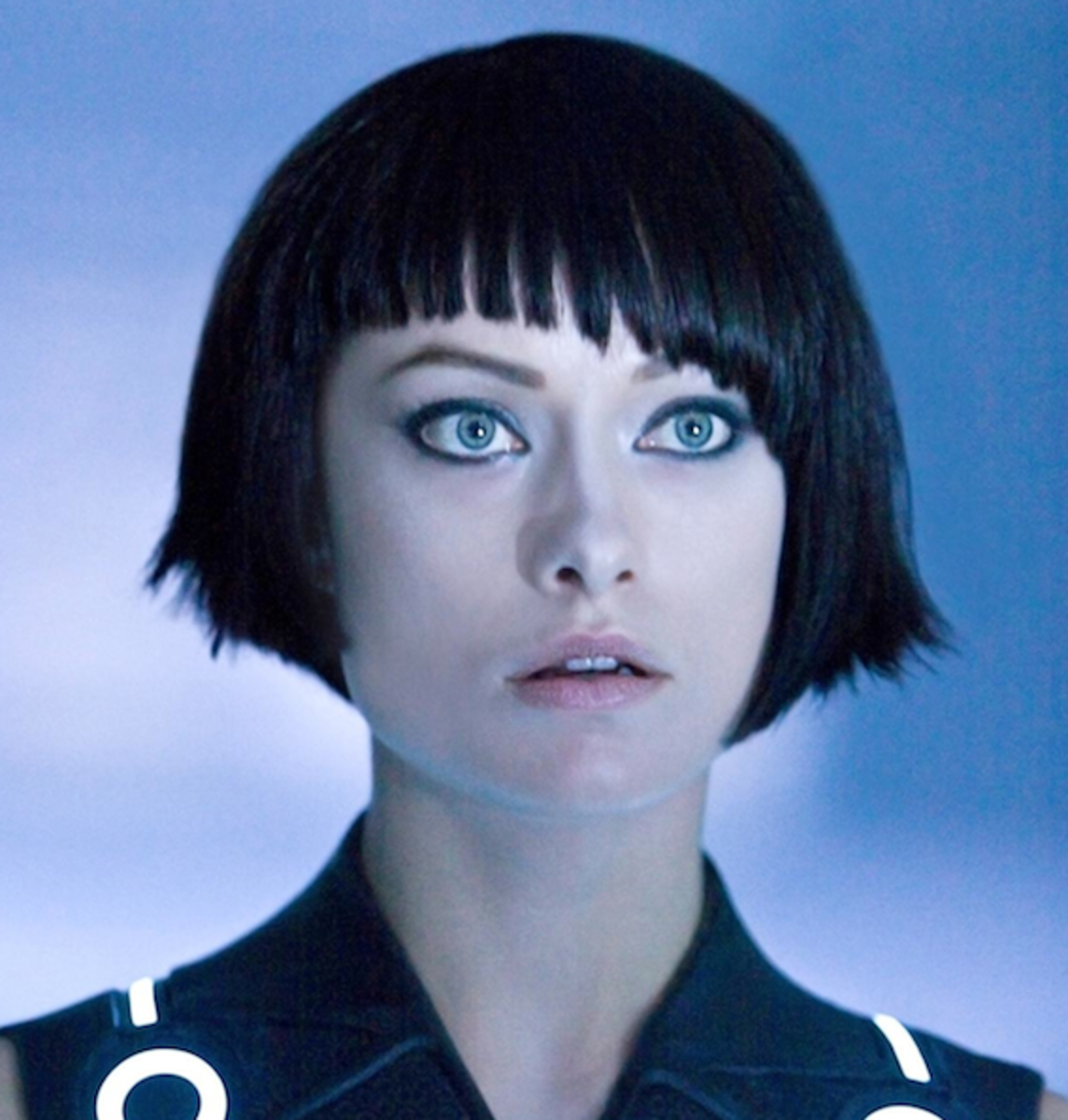 Olivia Wilde us just so stunning in Tron. Look at her. Just look at her.