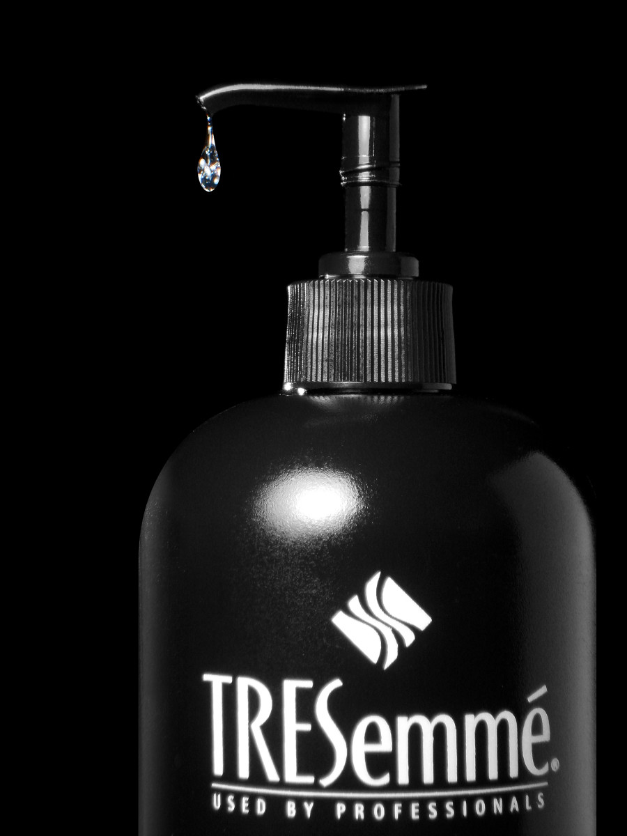 The TREsemme Volume shampoo is clear, inexpensive, and keeps my hair less greasy for much longer!
