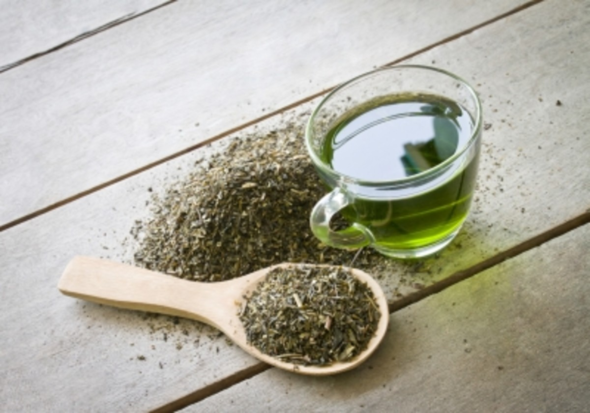 green tea is a highly beneficial ingredient to use within skin care recipes.