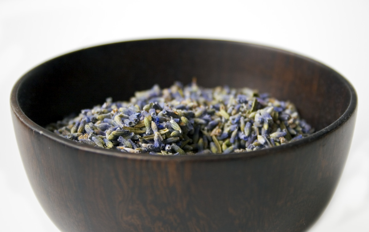 Or, you may want to make a lavender bath bomb...
