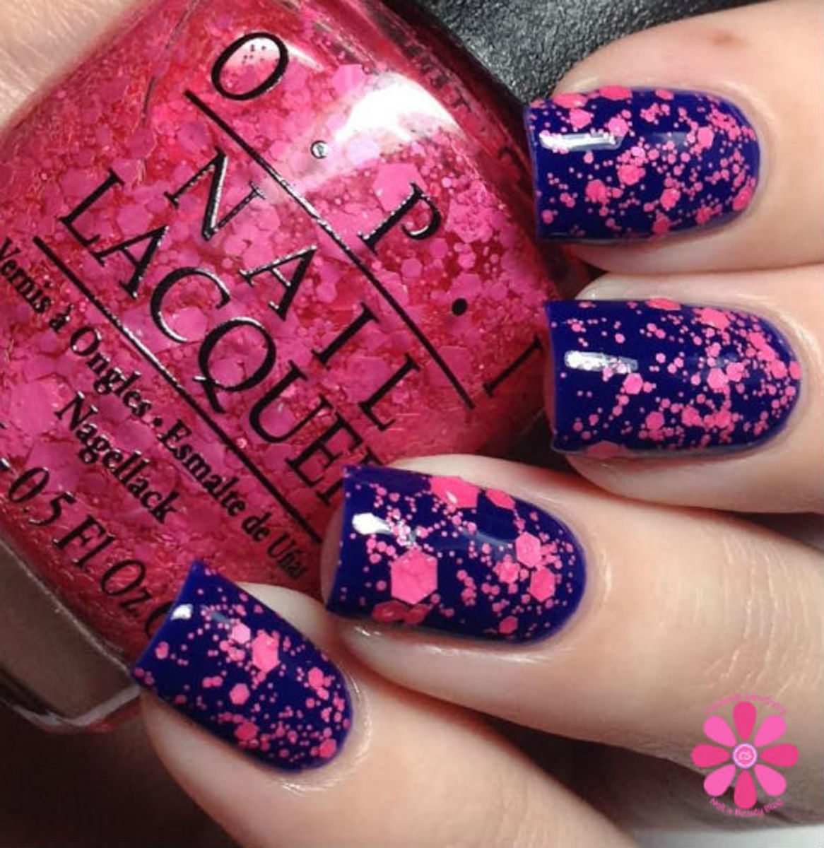 """OPI's """"On Pinks and Needles."""""""