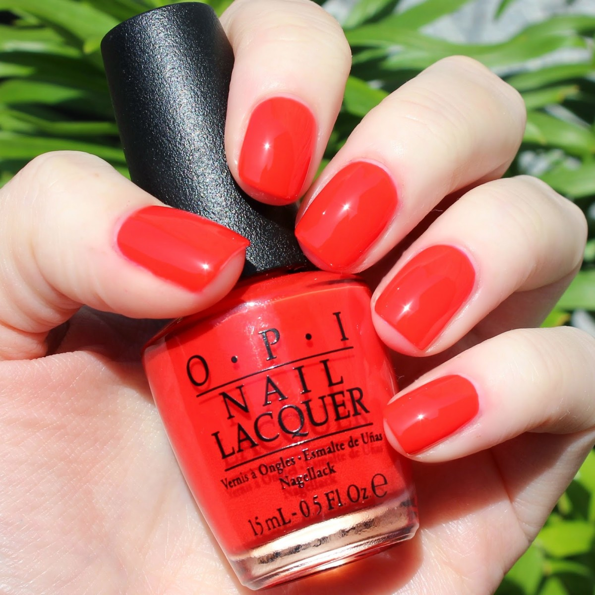 """I Stop for Red"" by OPI"