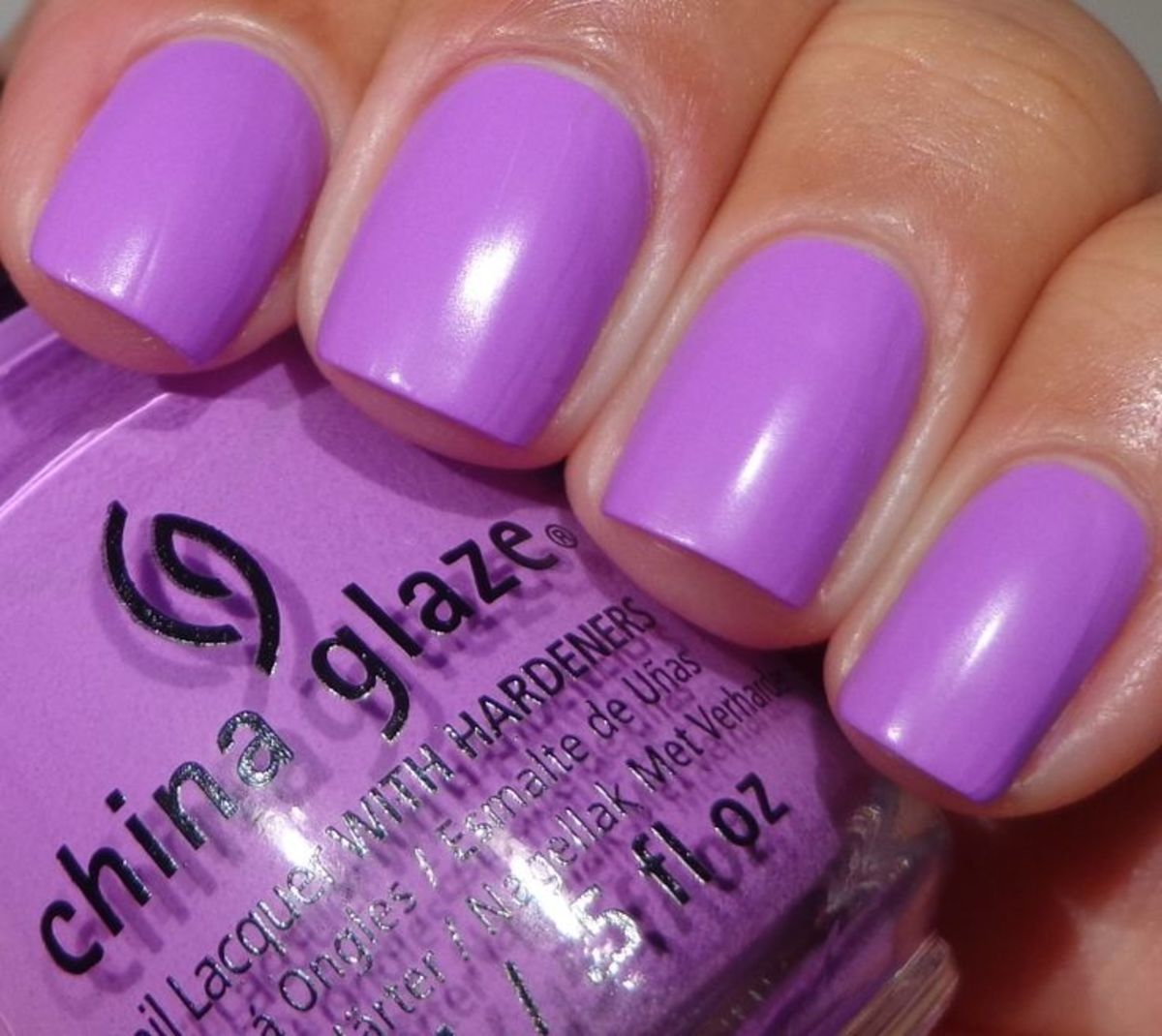 "China Glaze's ""That's Shore Bright."""