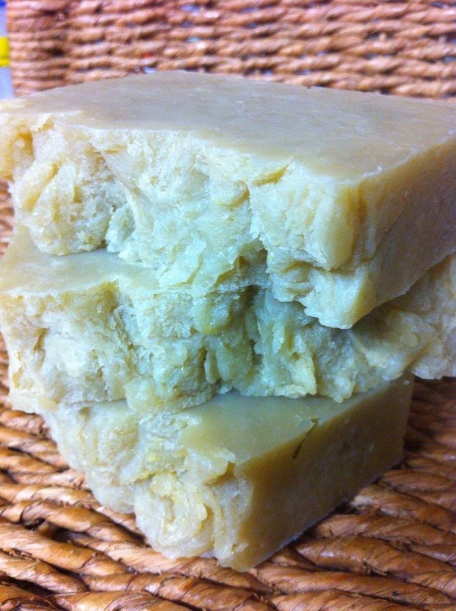 Enjoy your homemade rosehip butter soap!