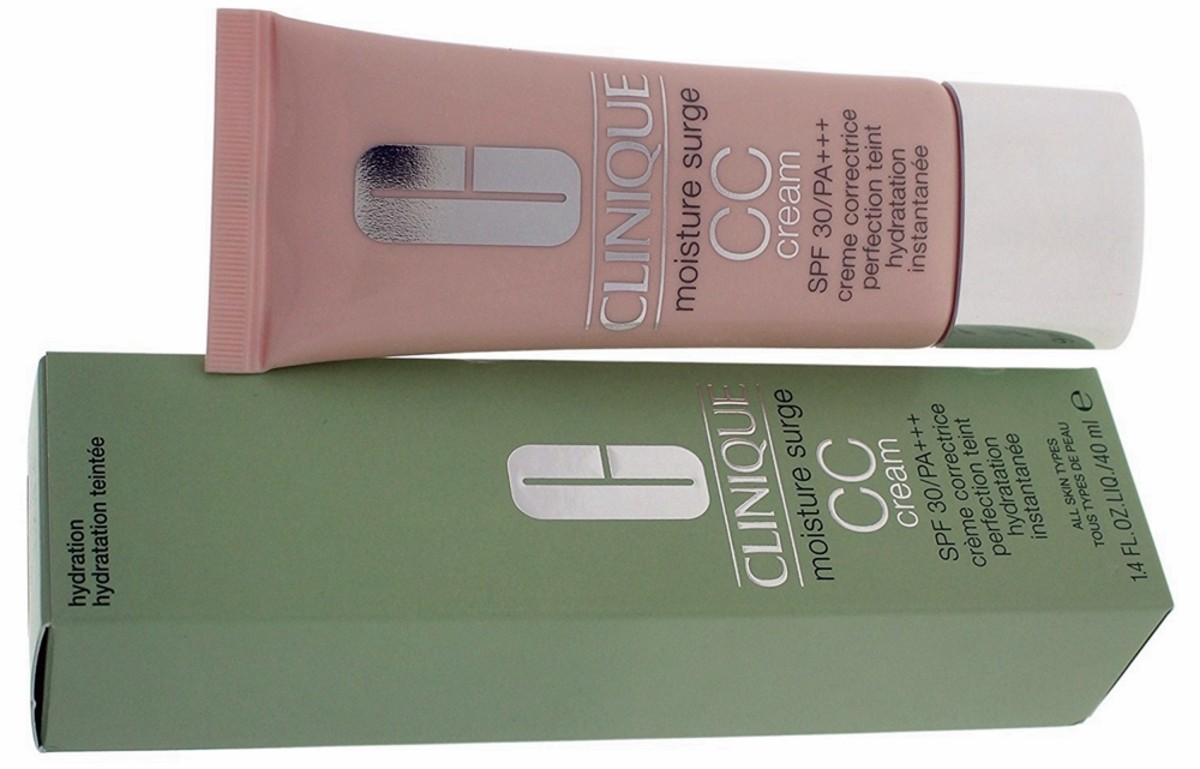 This Clinique Moisture Surge CC Cream is my daughter's personal favorite.