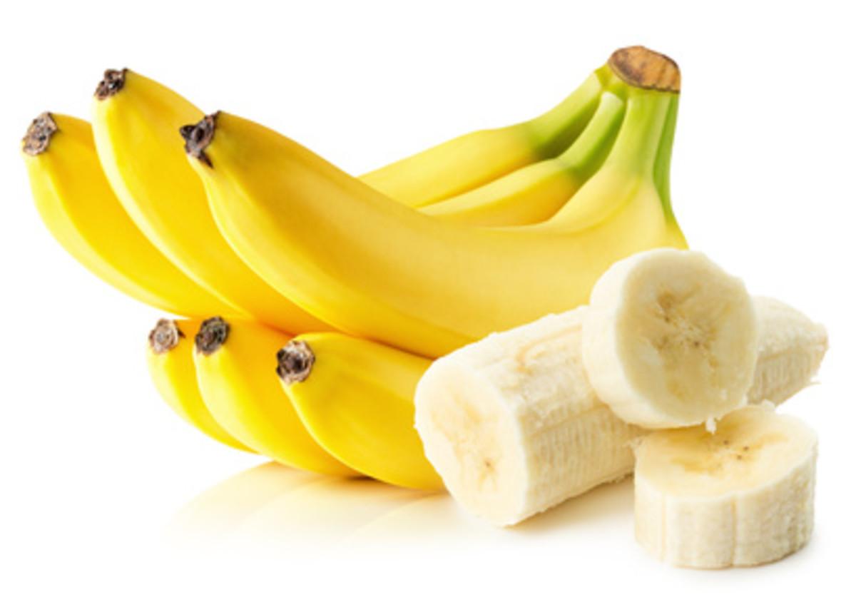 Use a banana peel to ease acne.