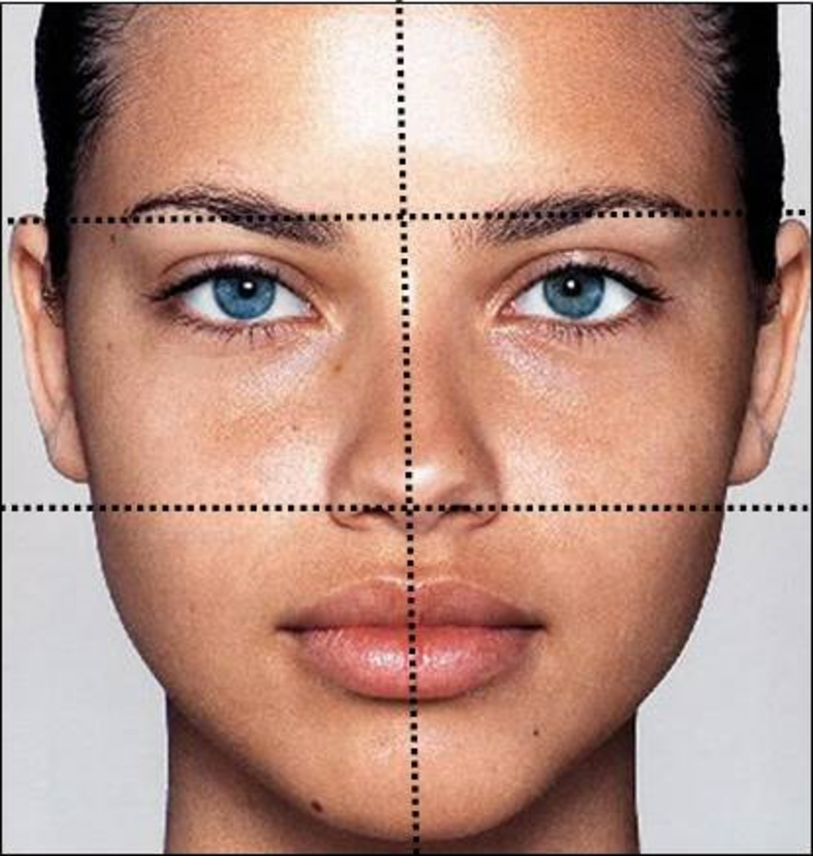 Apply Makeup in Sections