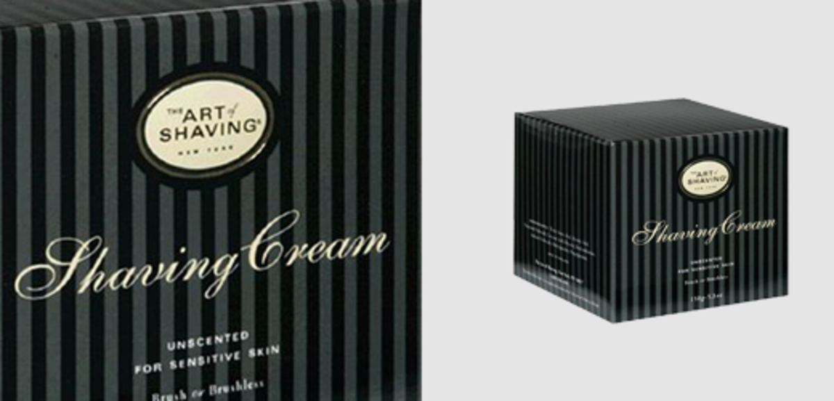 The Art of Shaving Unscented Shaving Cream