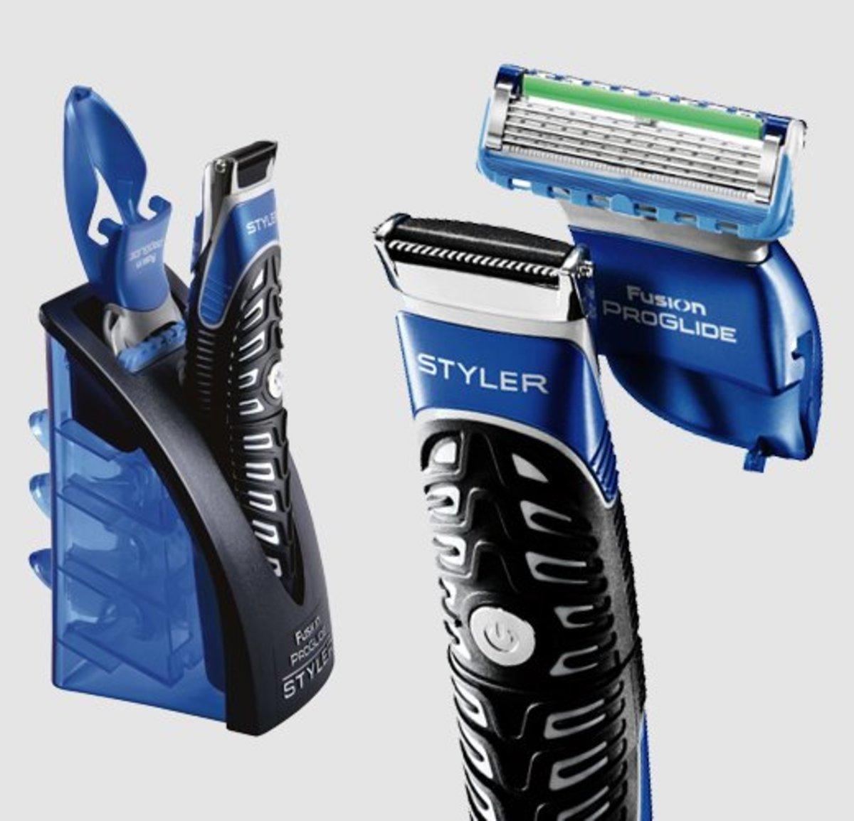 Gillette Fusion Proglide Styler 3-In-1 Men's Body Groomer