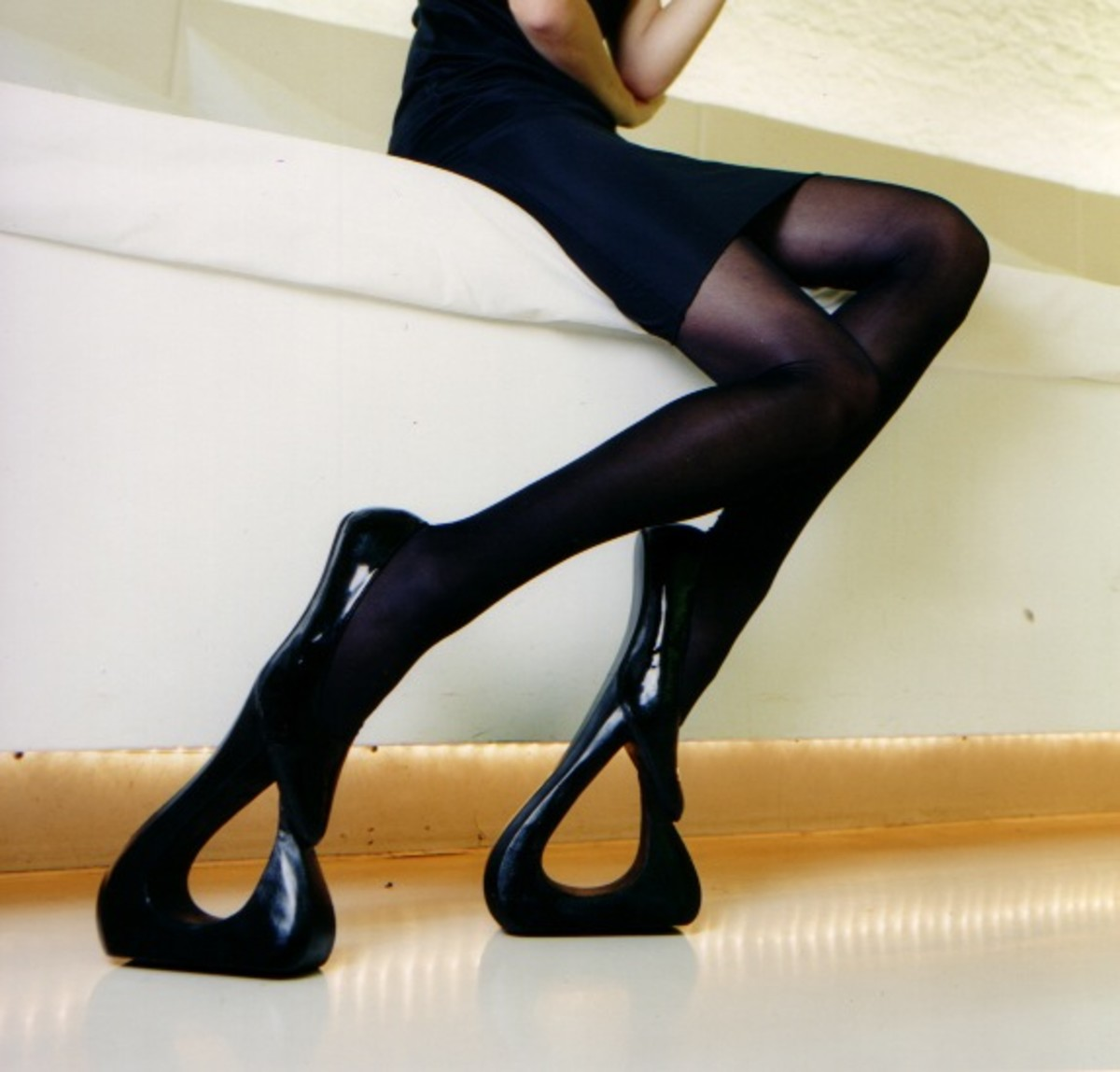 Make sure you weigh only 15kg when wearing these, otherwise you're not going to get very far.