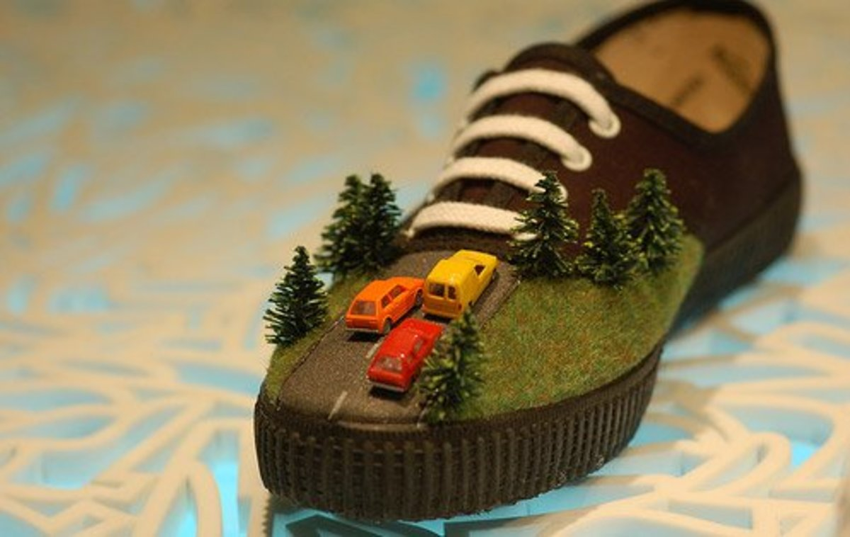 If you want to be really inventive, you can always create roadblock shoelaces, or maybe a tunnel flap for the train.