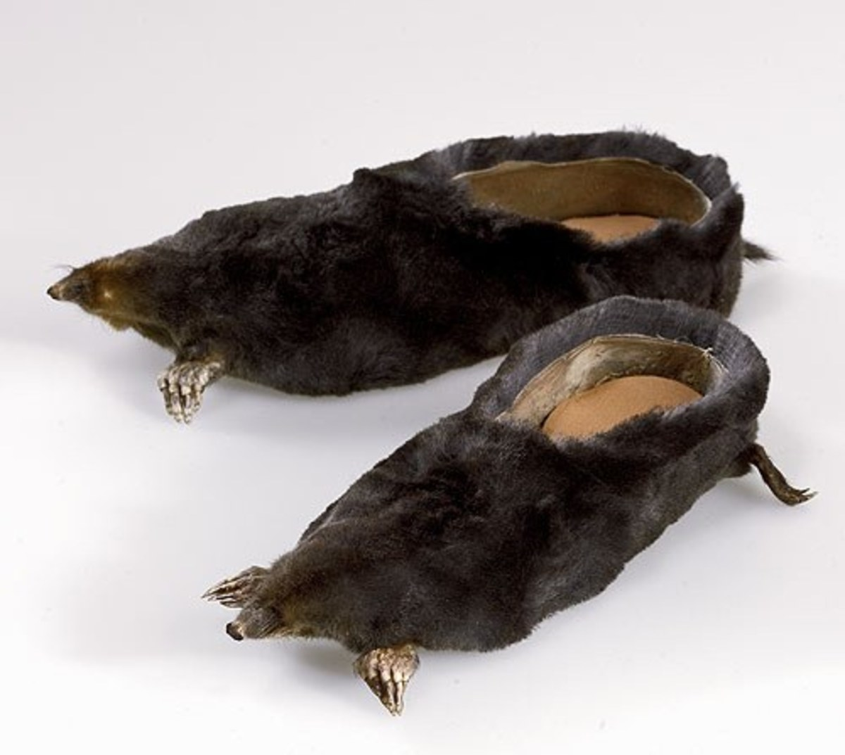 When these slippers are almost worn out, they would make a novelty gardening shoe.