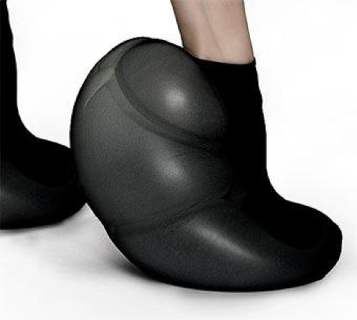 Don't walk on any kind of rough surface with these or the foam will rip, rendering your bank account $3,000 poorer.