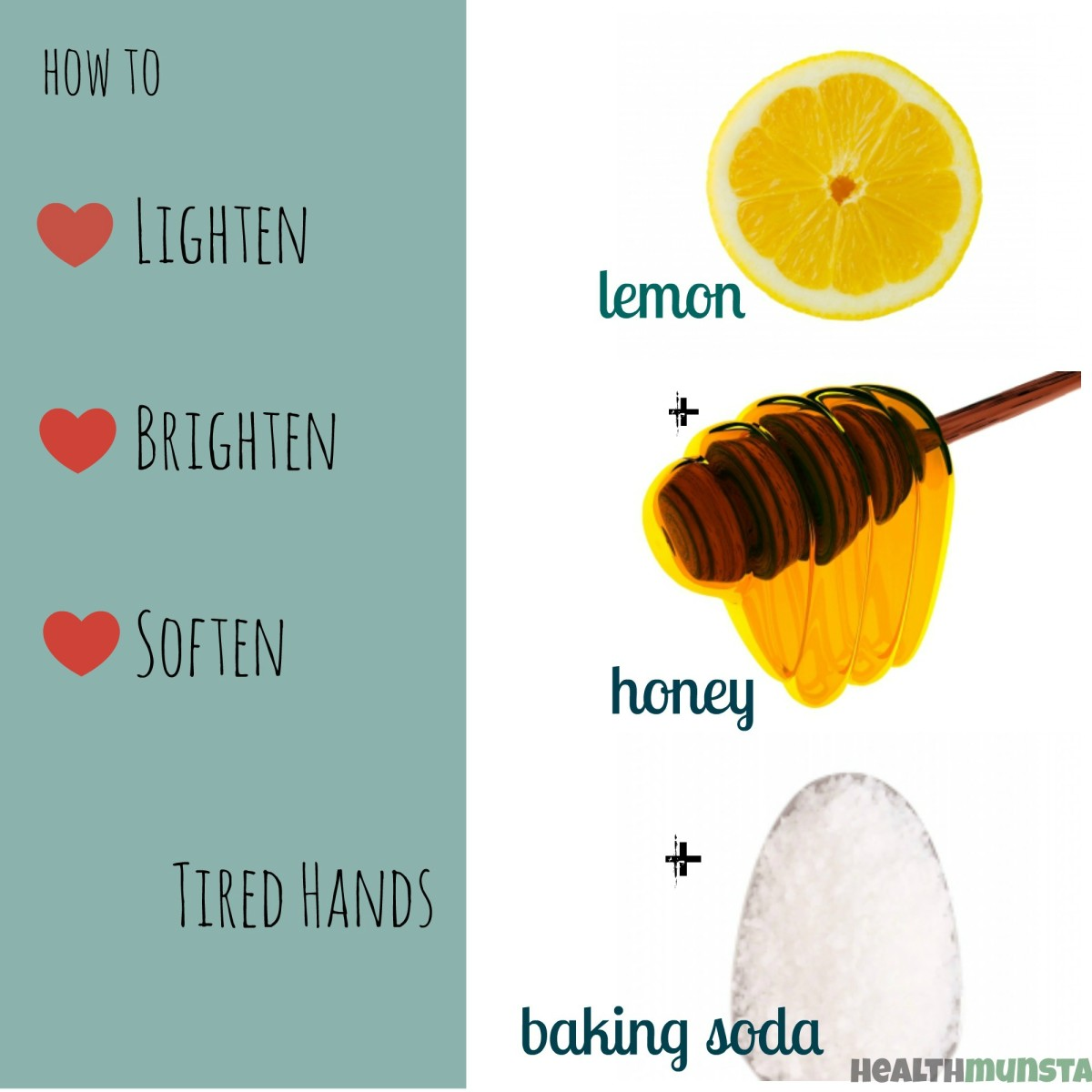 Tired, dull and discoloured hands? This is the perfect homemade remedy for you.