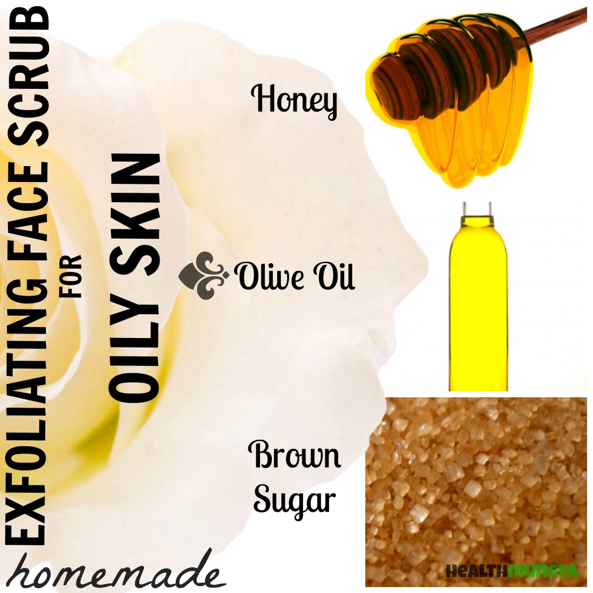 3 Diy Homemade Face Scrub Recipes For Oily Skin Bellatory