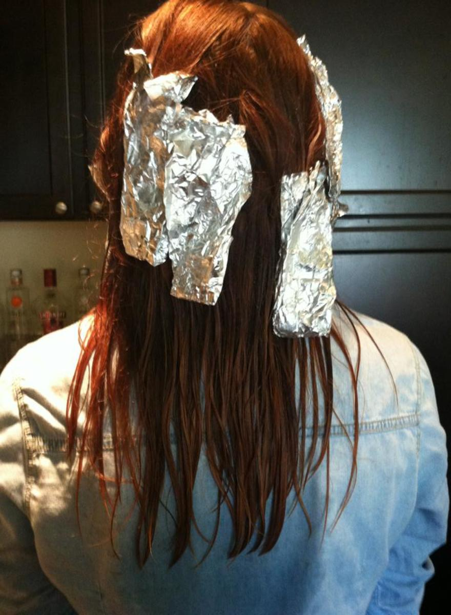 Sassy and stylish foil-dreds.