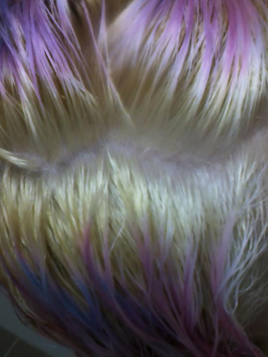 Here I come, purple shampoo!