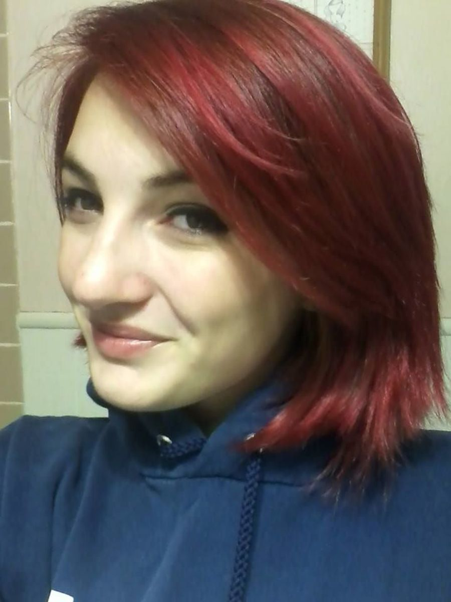 Short and red!