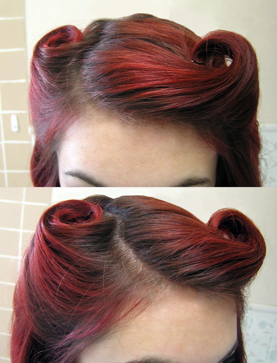 It's important to keep a clear part and maintain volume in your rolls.