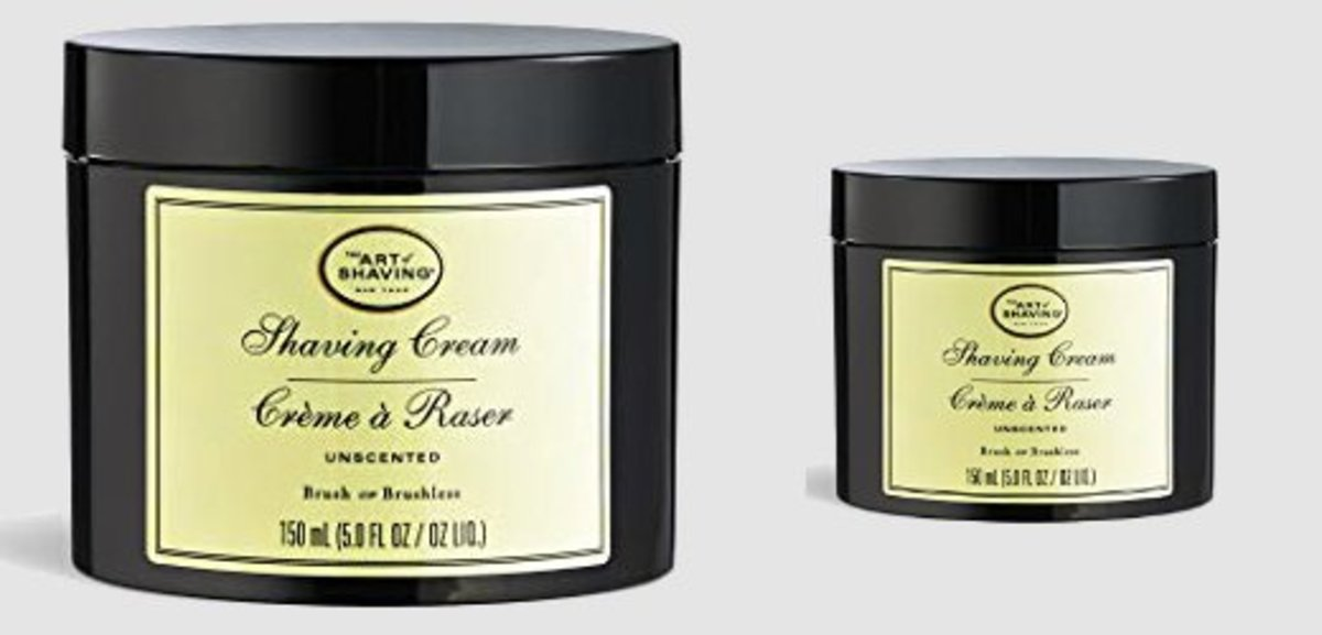 The Art of Shaving Unscented Shave Cream