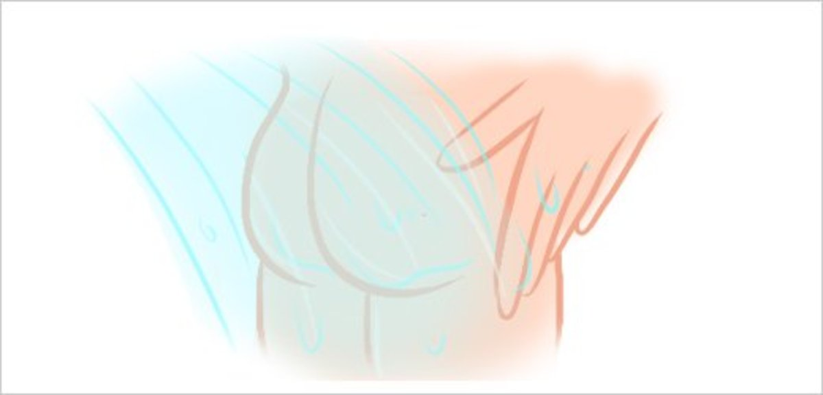 Step 7 - Rinse Your Buttocks