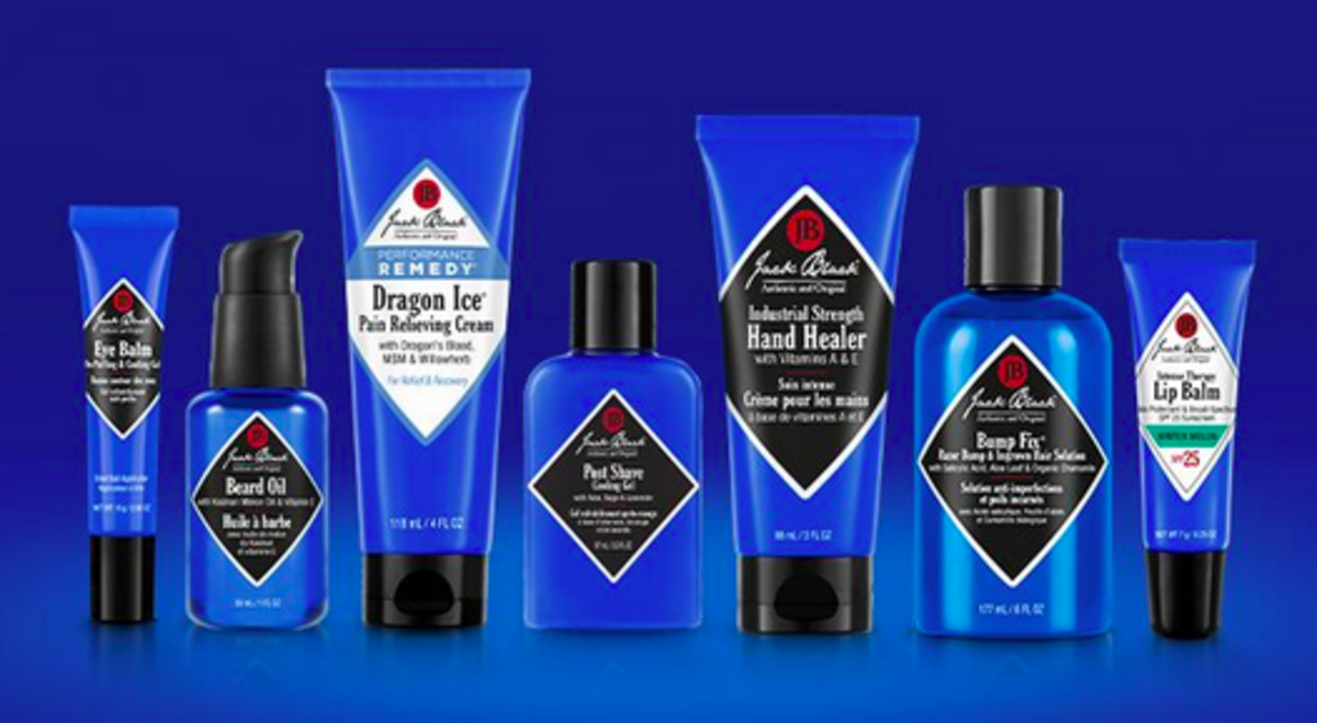 Jack Black is my go-to brand for men's skin care