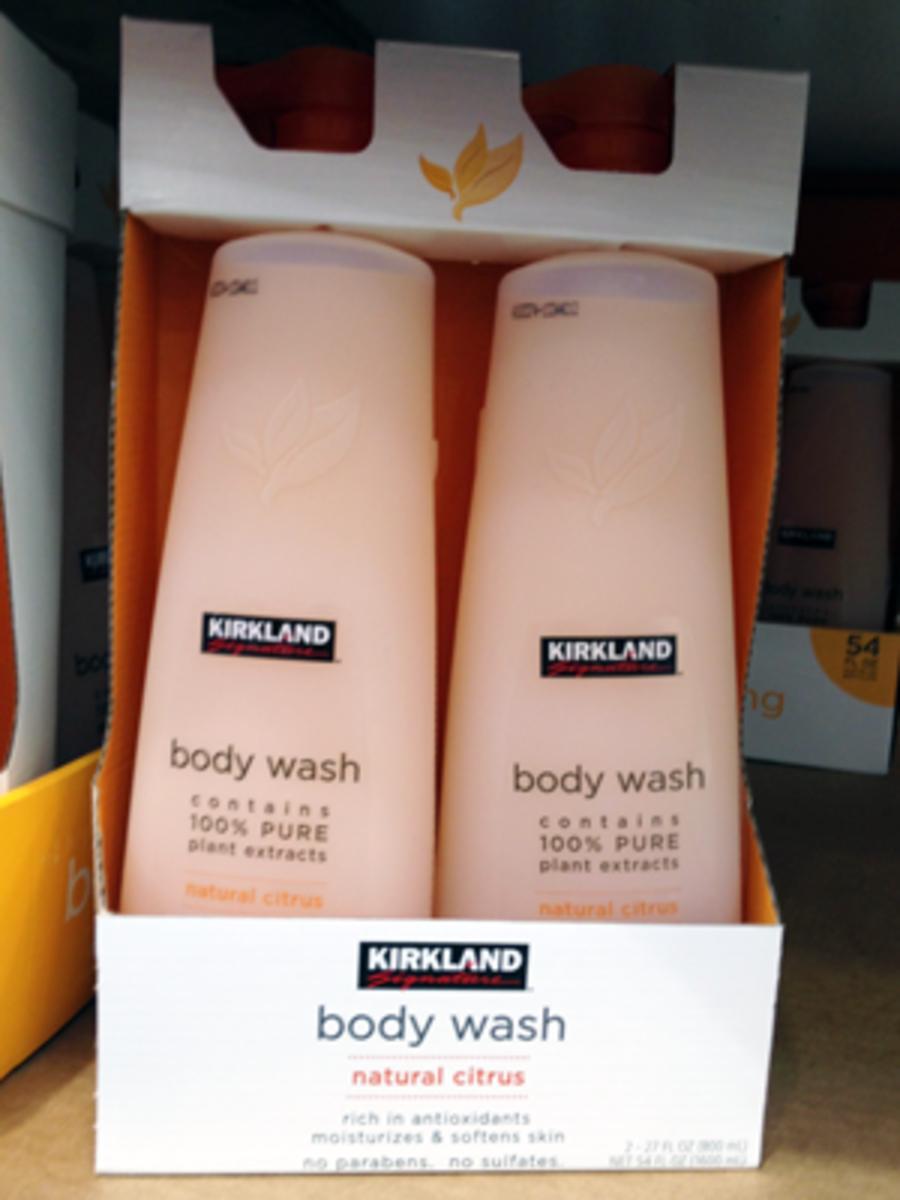 Kirkland Body Wash (Sulfate Free)