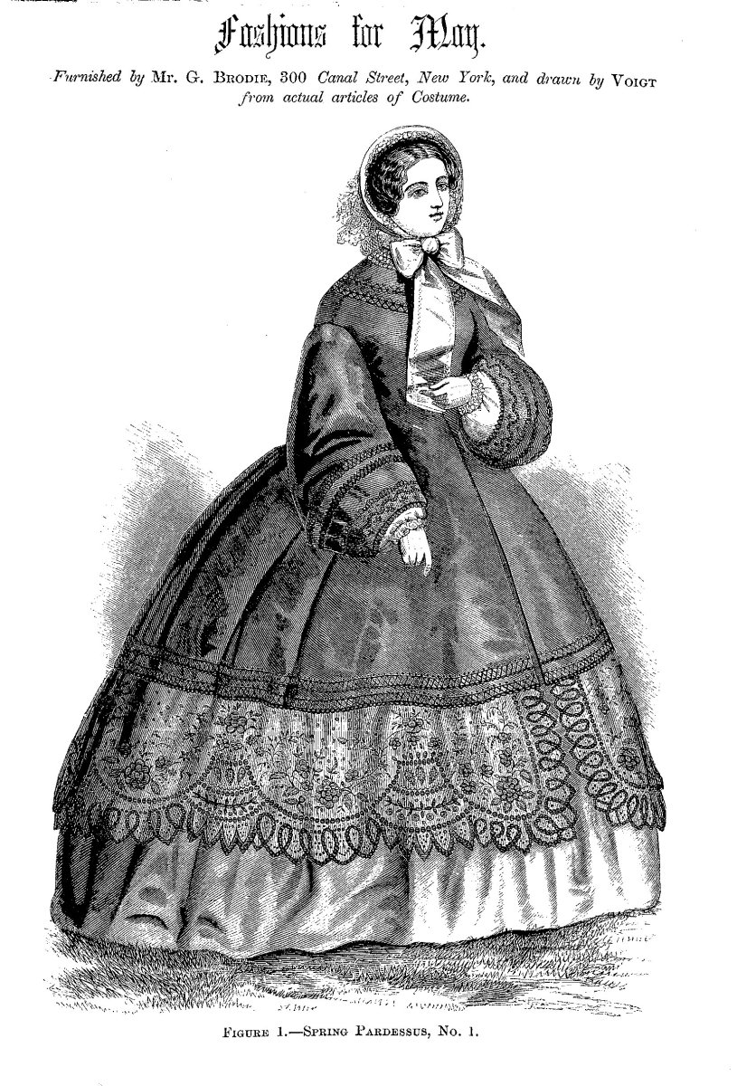 1861 Fashion Illustration