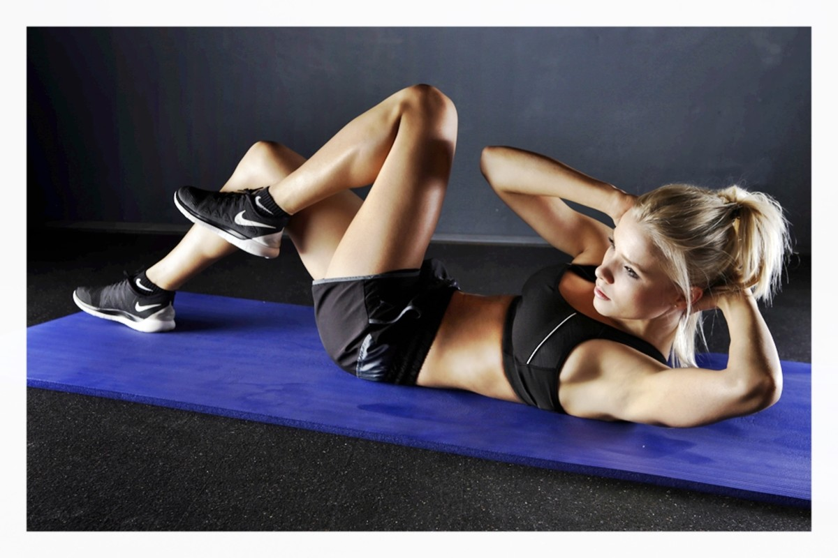 Exercising can improve skin by increasing blood flow and, through perspiration, cleansing the pores.