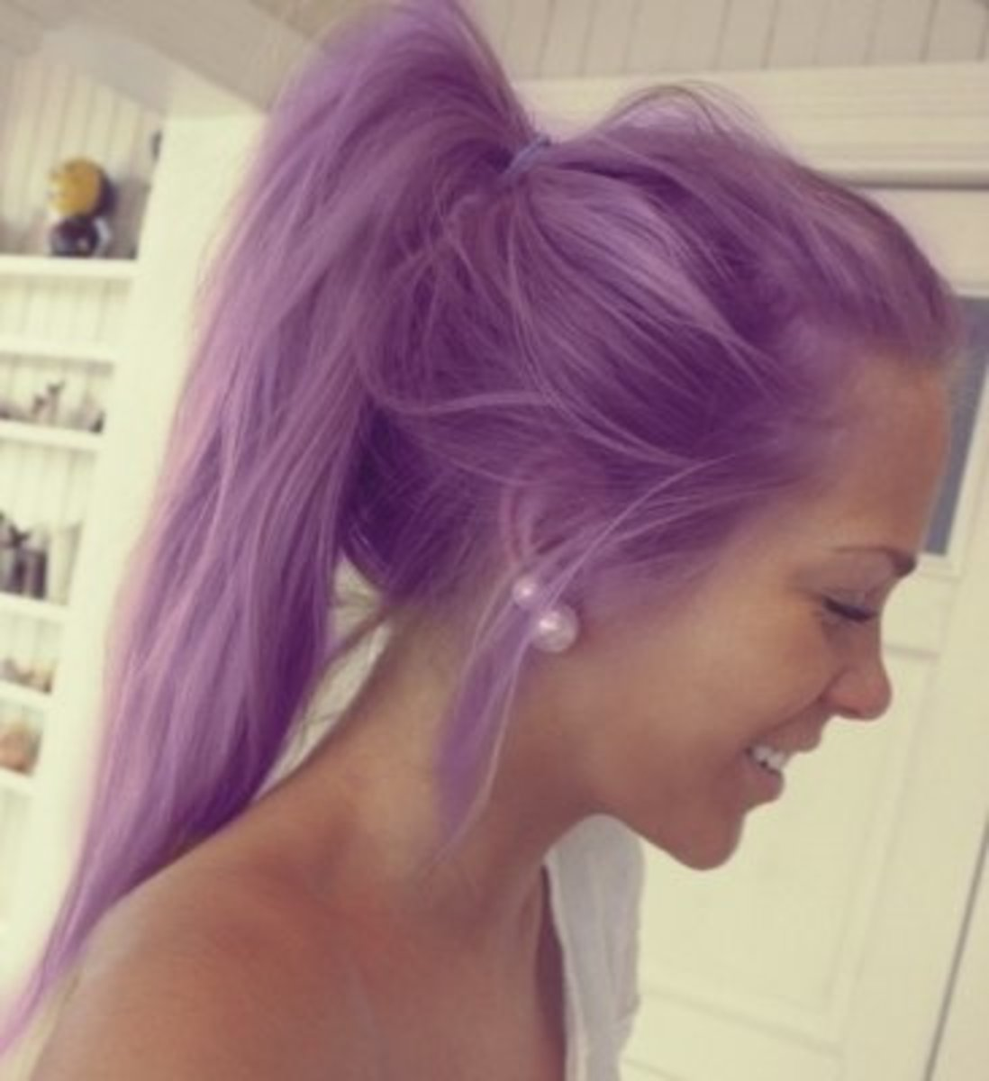 Girls With Light Purple Hair Tumblr Different Ways ...