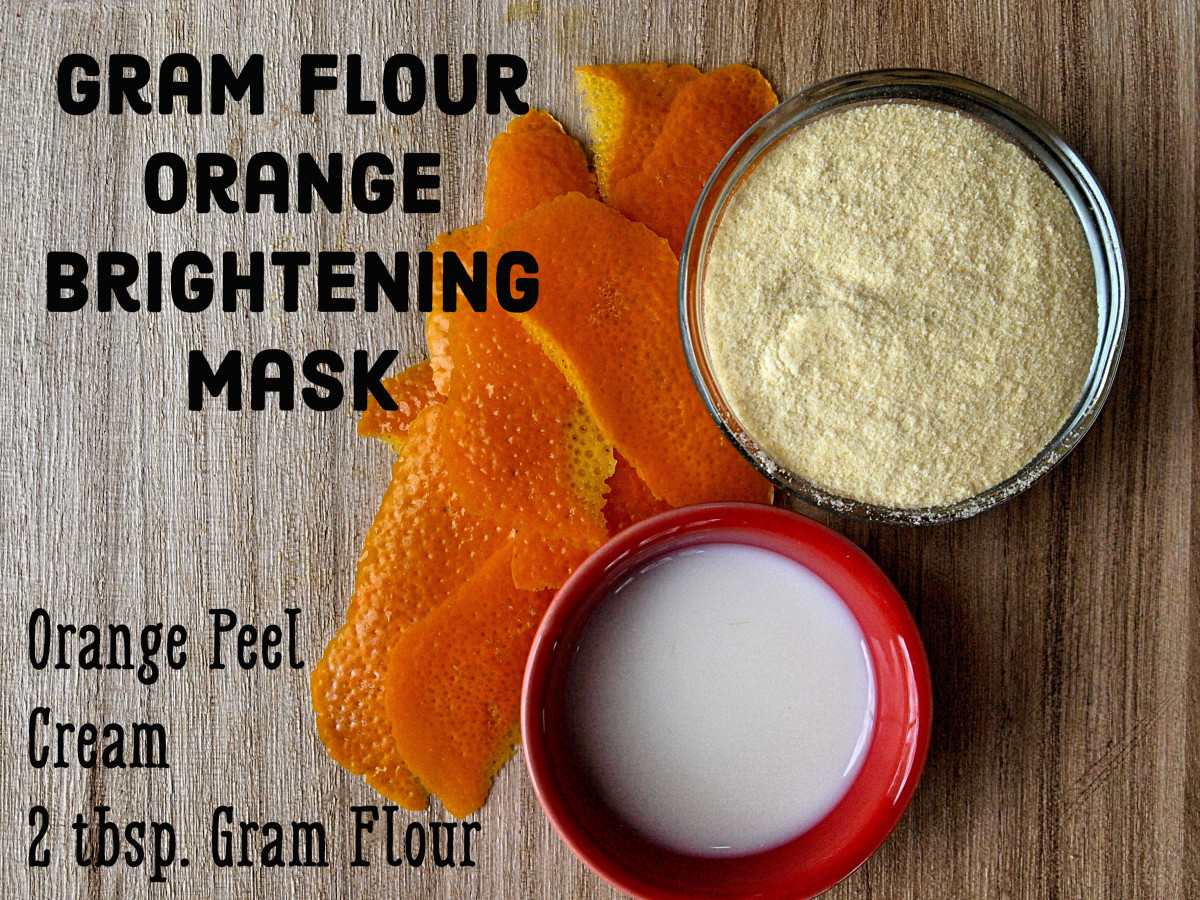 Brighten Your Skin with a Natural Gram Flour Facial Mask