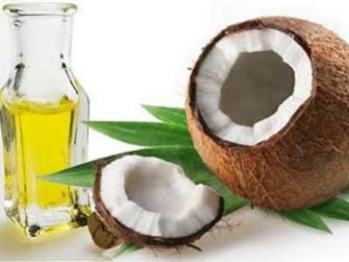 Coconut oil is a great way to condition and strengthen you hair naturally.