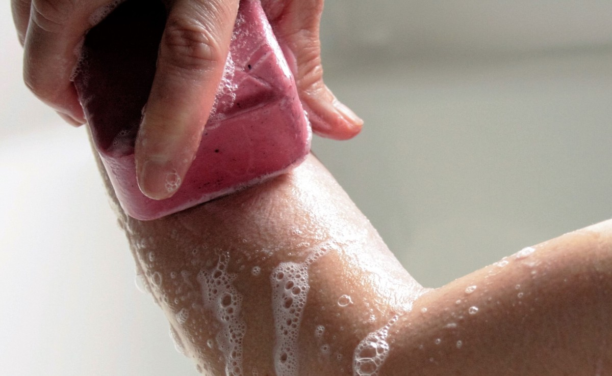 Is the soap you're using too harsh for your skin?