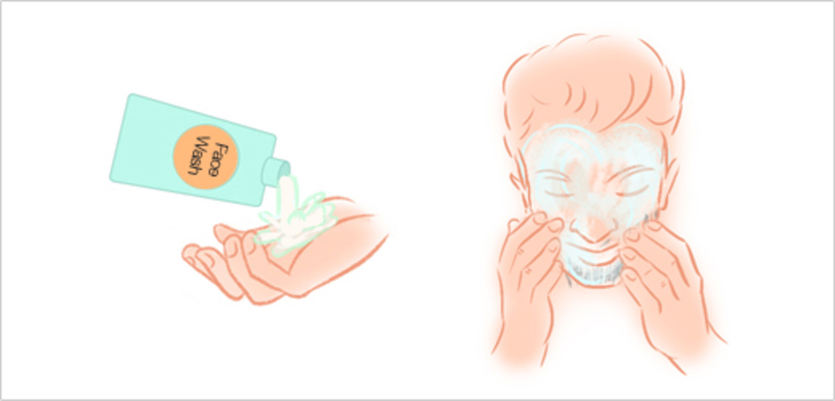 Step 2 - Clean Your Face