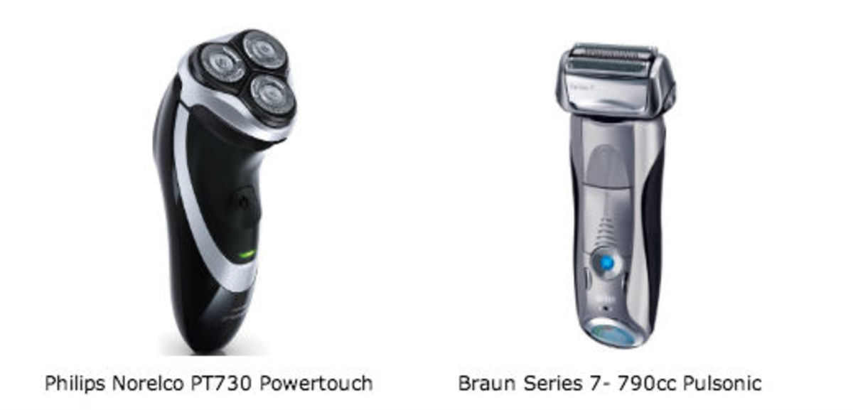 Philips Norelco vs. Braun Series 7